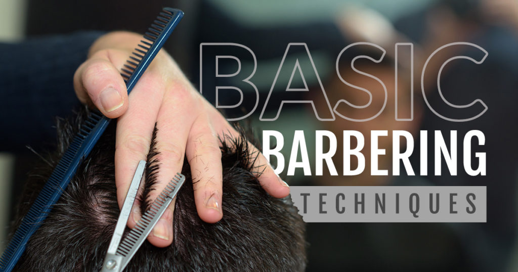 barbering techniques